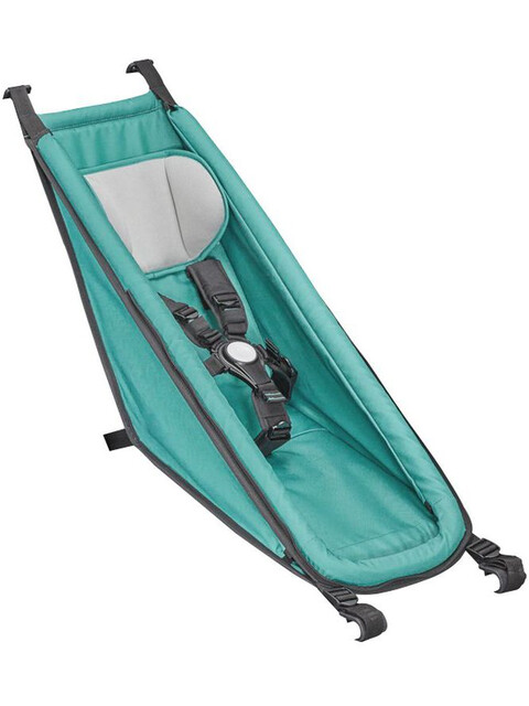 Croozer Babysitz für Kid Plus / Kid ab 2014 artic green